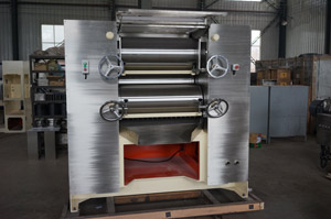 Brand New inclined bottom discharge soap -making three-roll-mill was born in China Limac